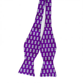Purple KS Gameday Bow